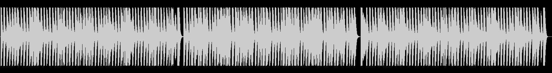 陽気な「ジングルベル」ラグタイムジャズの未再生の波形