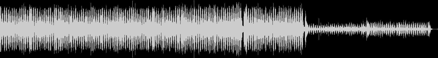 ビートの聴いたクールなリズムトラックの未再生の波形