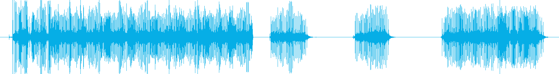 釣りのリールの音、キリキリと糸を巻く音の再生済みの波形