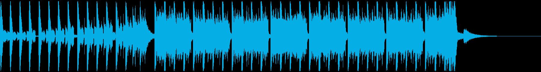 スポーツ(30秒)の再生済みの波形