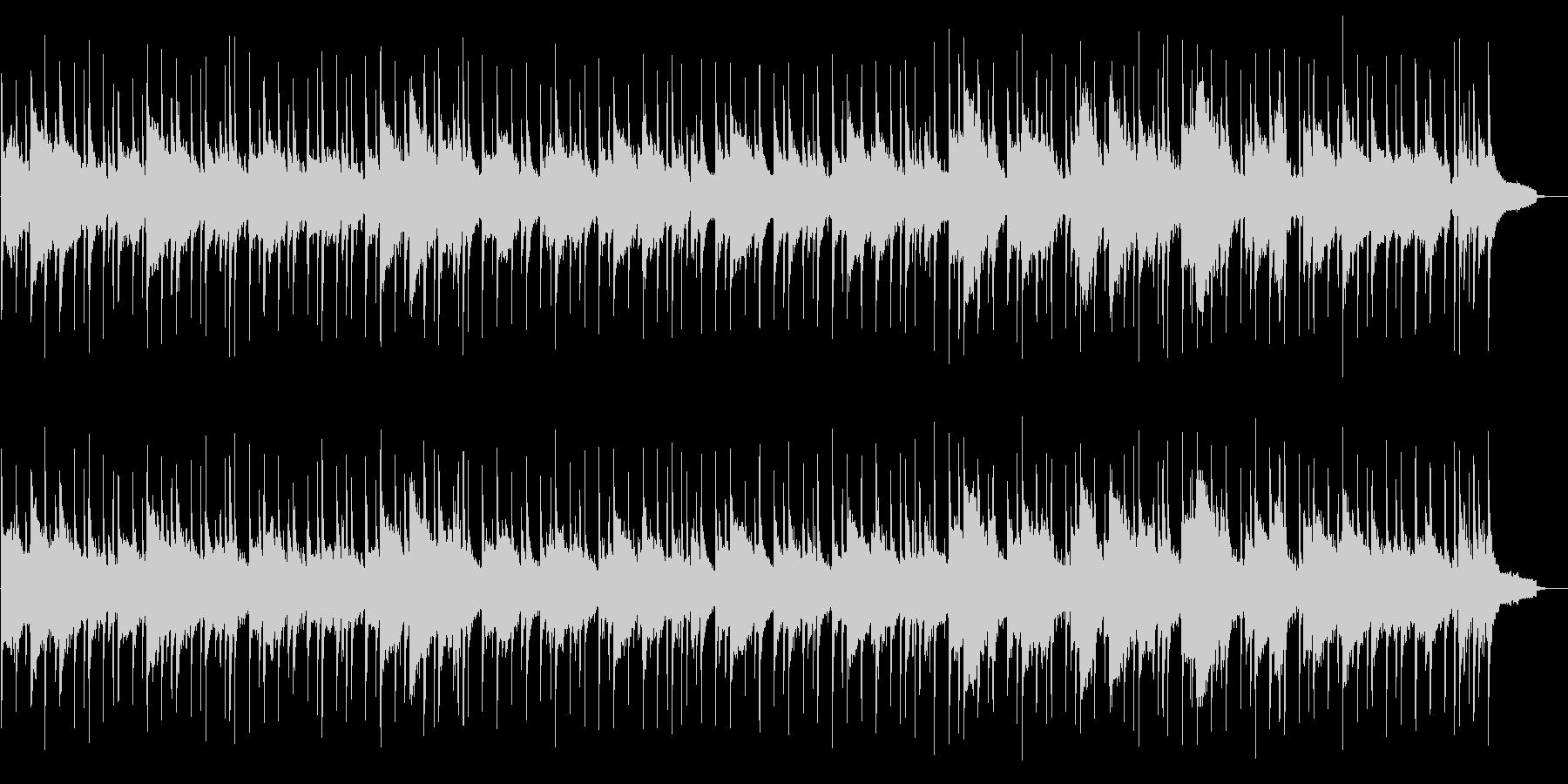 感動的なサックス演奏の未再生の波形