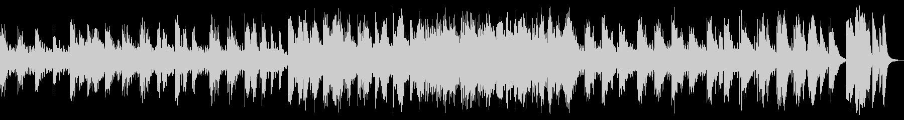 和楽器中心の、スローテンポな曲の未再生の波形