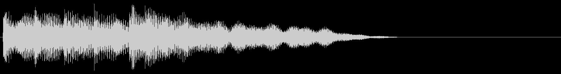 マレット系 ATМ風のフレーズ3(特)の未再生の波形