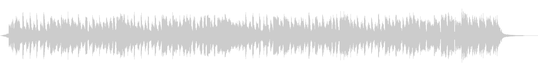 ハッピーバースデーの歌30秒の未再生の波形