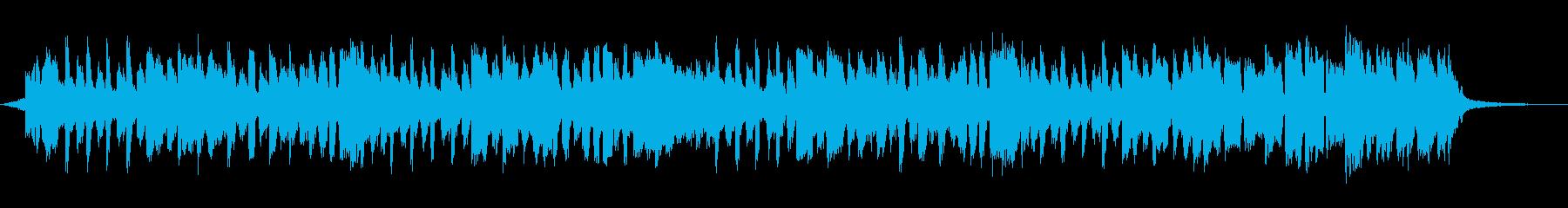 ハッピーバースデーの歌30秒の再生済みの波形