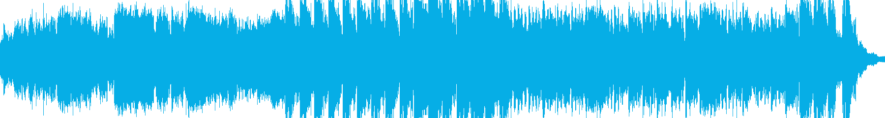 緊張感あふれる金管楽器のシンフォニーの再生済みの波形