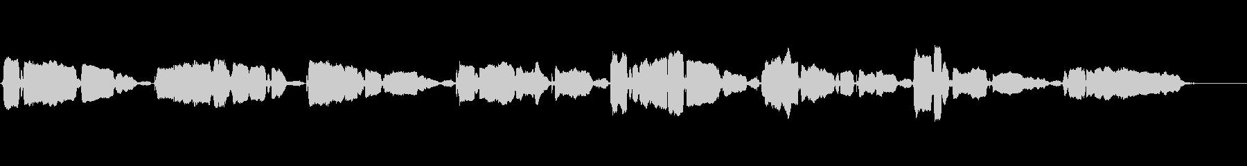 もみじ アカペラ ハスキーで繊細な歌声の未再生の波形