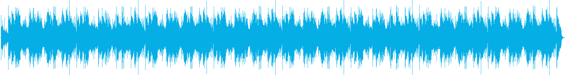 温かみのある弦パッドと空気のような...の再生済みの波形