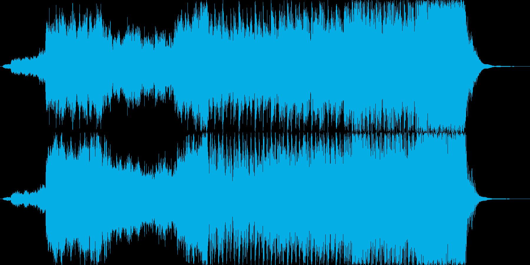 生命の誕生の再生済みの波形