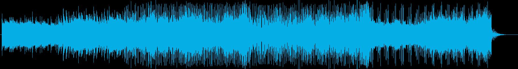 おしゃれ・クール・疾走感のあるエレクトロの再生済みの波形