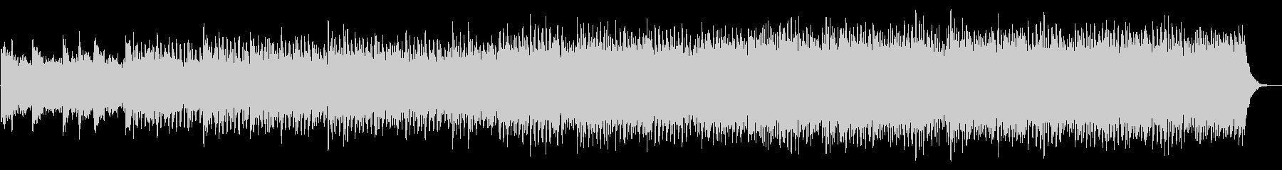 ピアノとシンセの導入向けアンビエントの未再生の波形