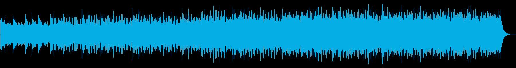 ピアノとシンセの導入向けアンビエントの再生済みの波形