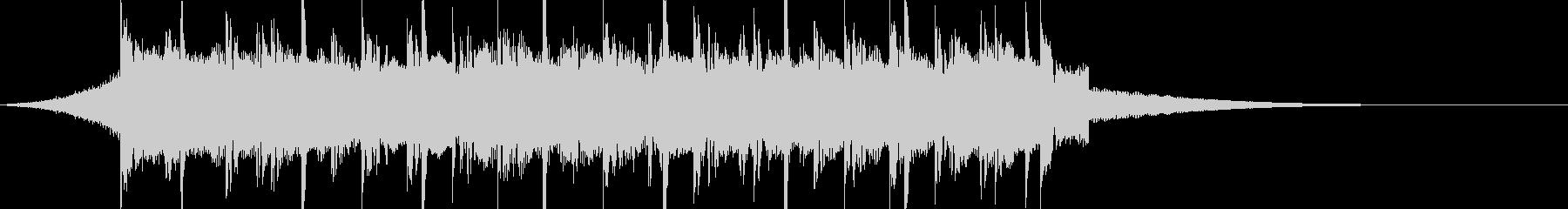 CM15秒、おしゃれなギターのトラックの未再生の波形