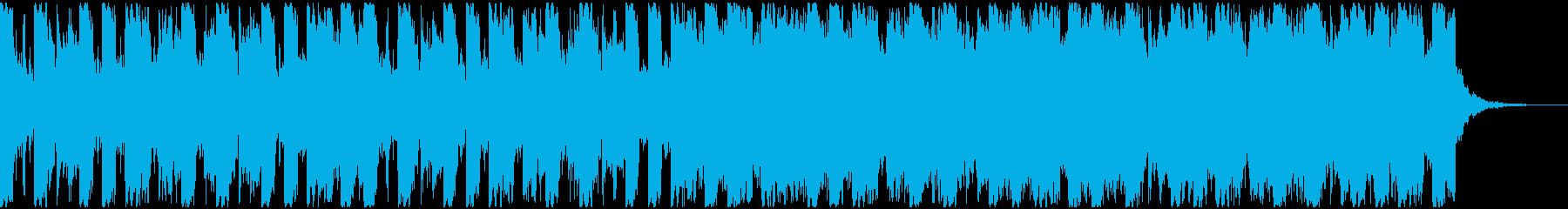 わくわくする近未来、洋楽のトレンドの再生済みの波形
