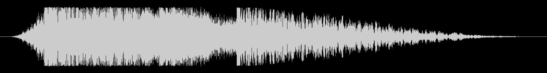 強烈なスピン!インパクトある映像ロゴ向けの未再生の波形