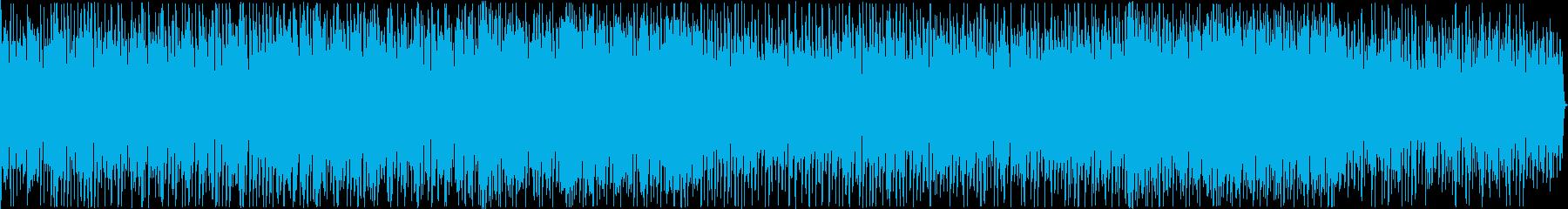 平凡な日常を思わせるポップスの再生済みの波形