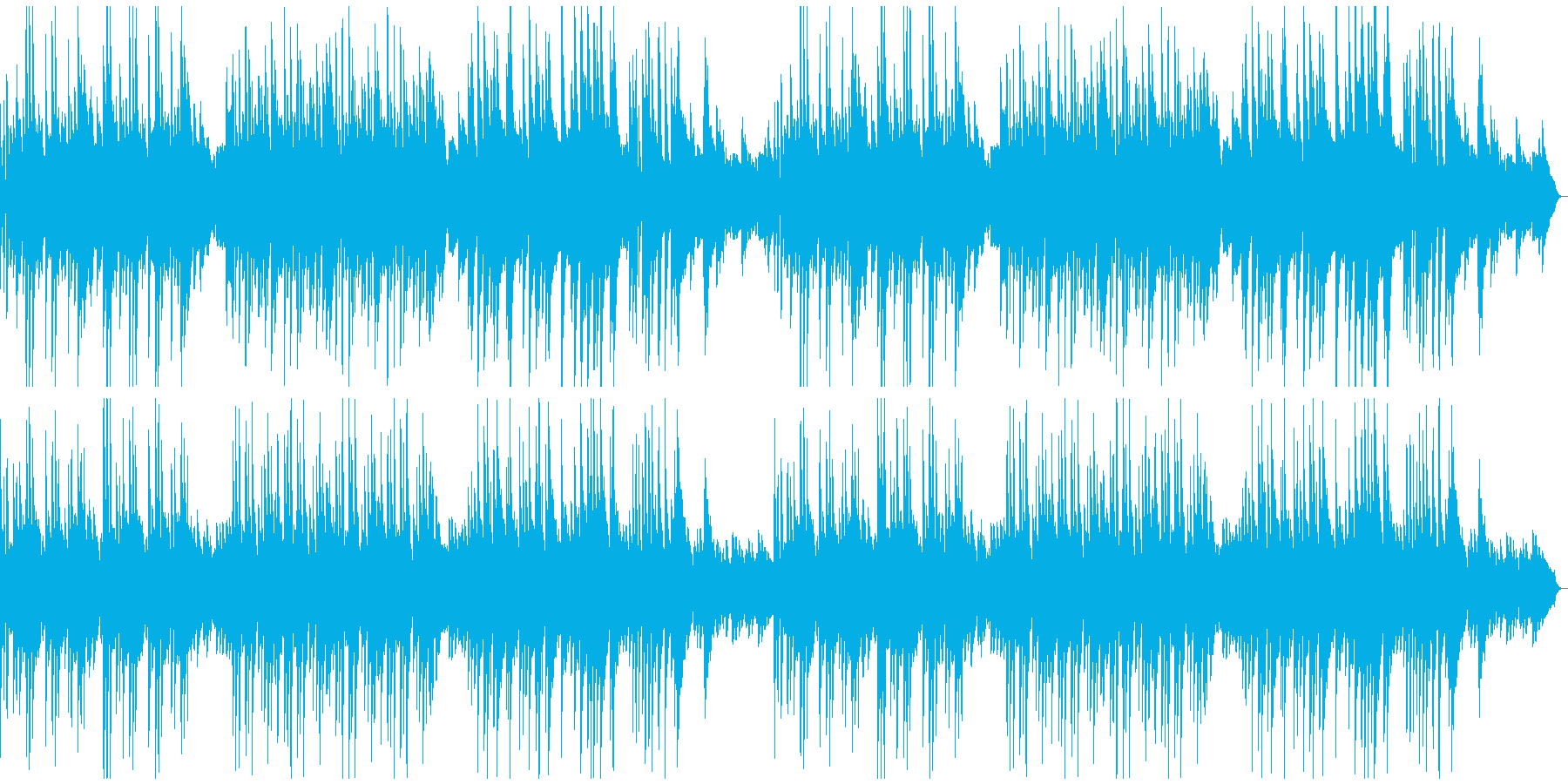 少し日本情緒のあるソロ・ピアノ曲の再生済みの波形