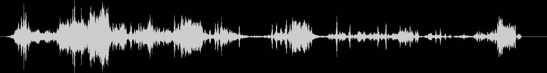 コヨーテハウル、バーク。グループの...の未再生の波形