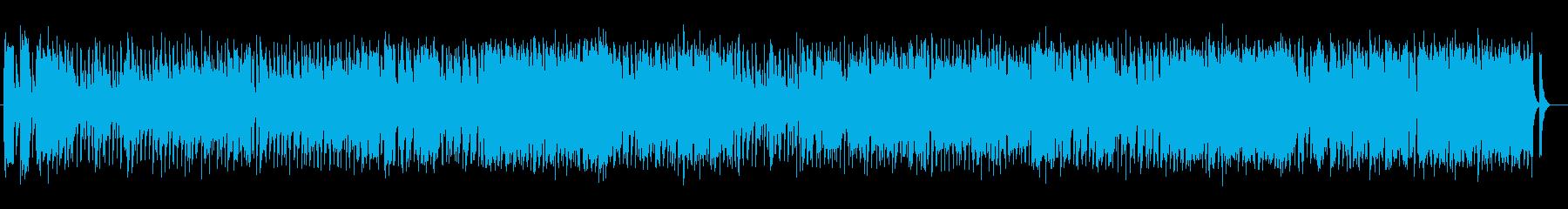 軽快でスウィングするジャジーなポップスの再生済みの波形