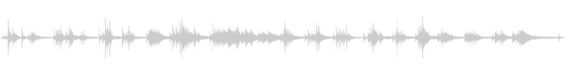 現代の交響曲 室内楽 劇的な 神経...の未再生の波形
