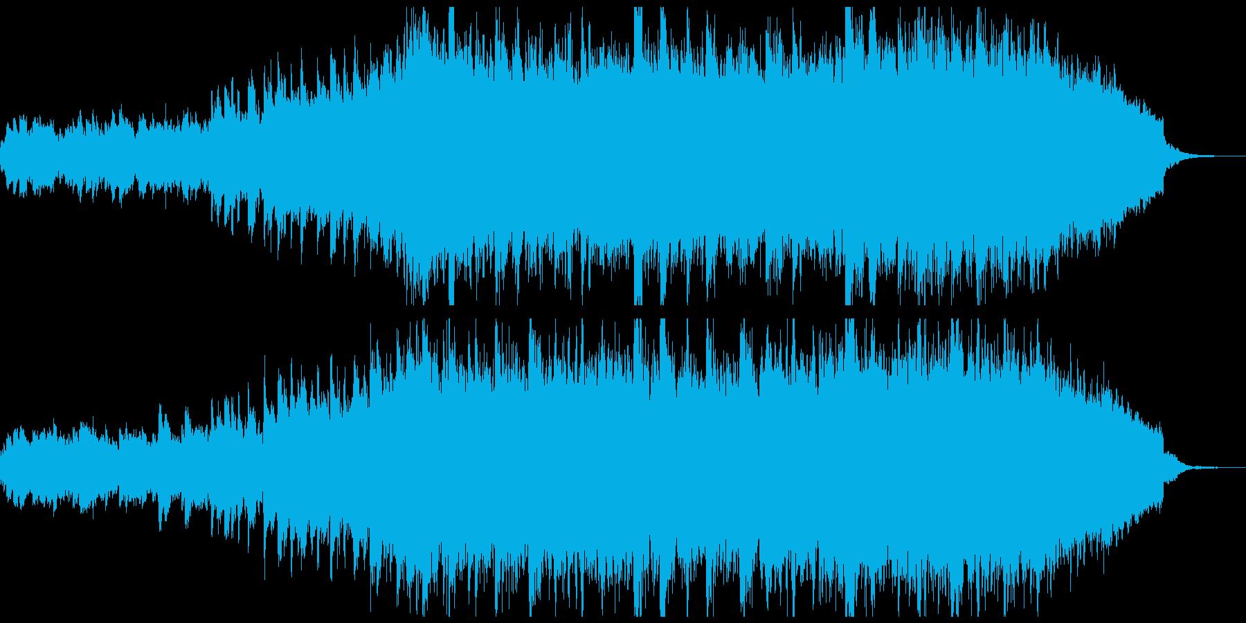 優しく透明感のある明るい曲、映像やCMにの再生済みの波形
