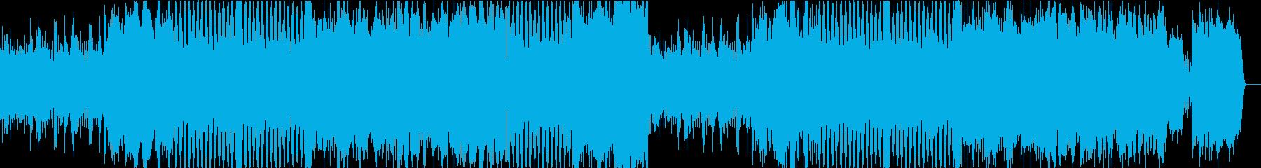 ストリングスとピアノによる戦闘曲の再生済みの波形