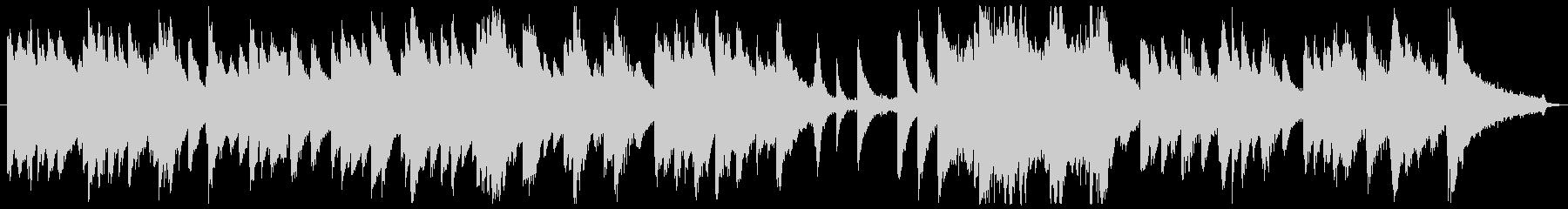 切ない&優しいピアノ曲(ソロピアノ)の未再生の波形