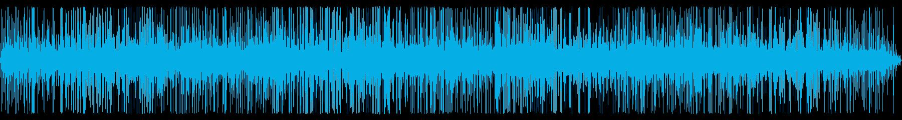 【自然音】四季の森公園・雨#4(HPL)の再生済みの波形