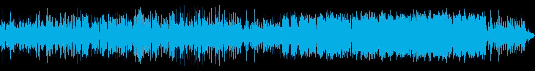 しっとりとして切ない大人のジャズピアノ曲の再生済みの波形