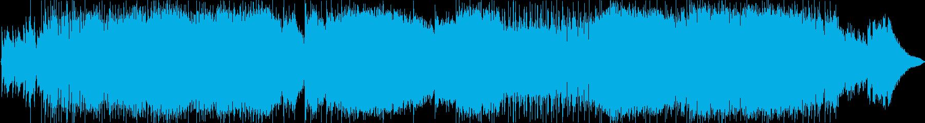 インストゥルメンタルロックソングに...の再生済みの波形