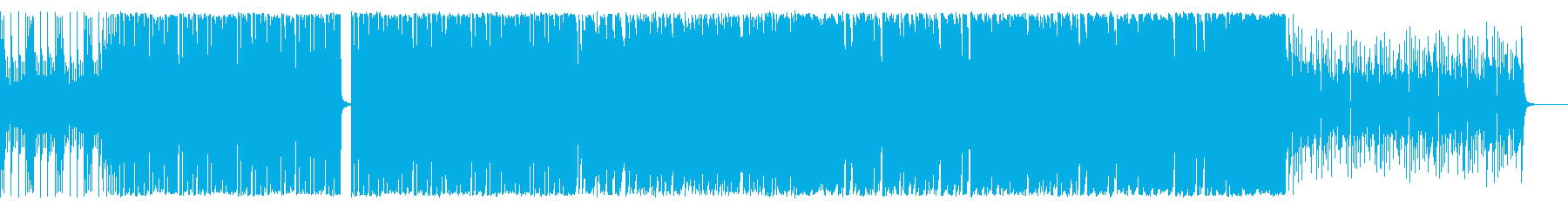 どたばたコミカル系ですの再生済みの波形