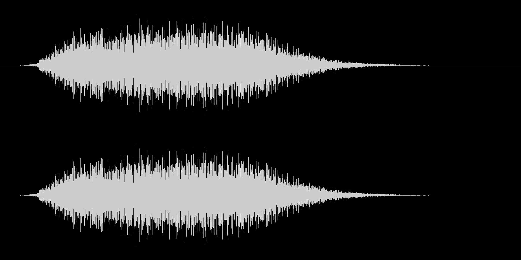 シューッという音EC07_86_5 2の未再生の波形