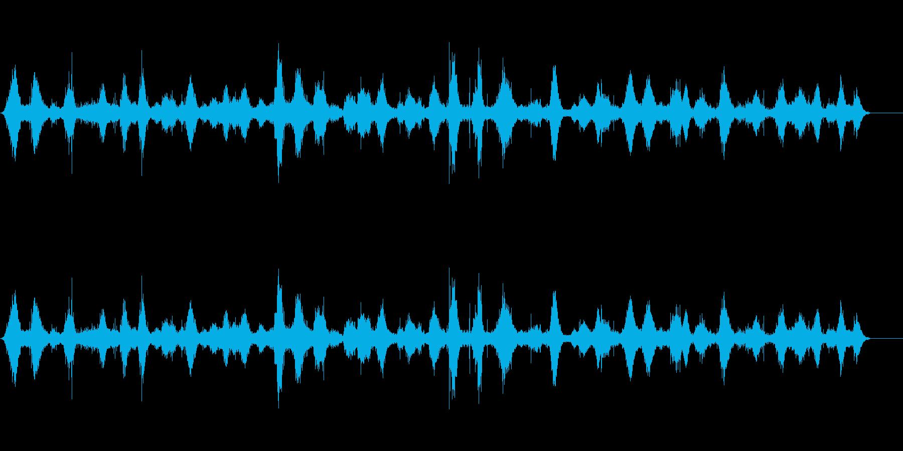 海の波タイツの再生済みの波形