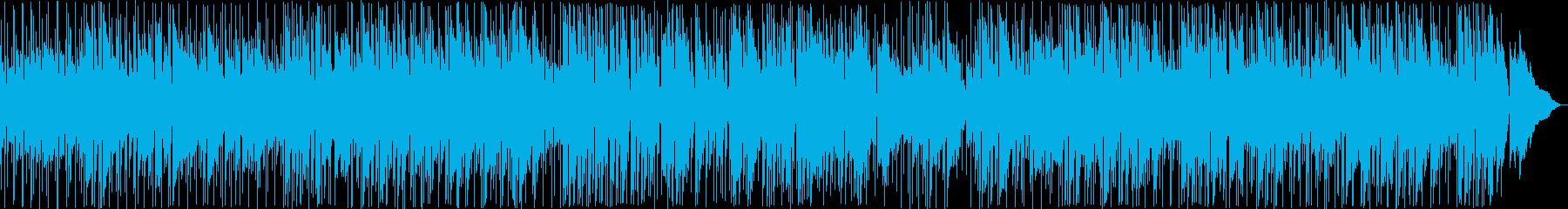 くつろげるギターのイージーリスニングの再生済みの波形