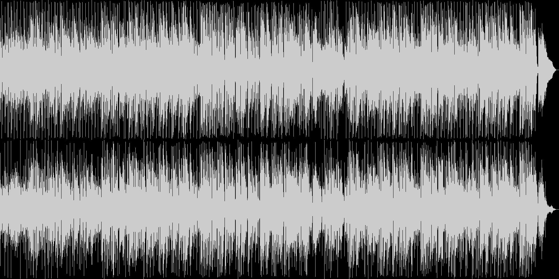くつろげるギターのイージーリスニングの未再生の波形