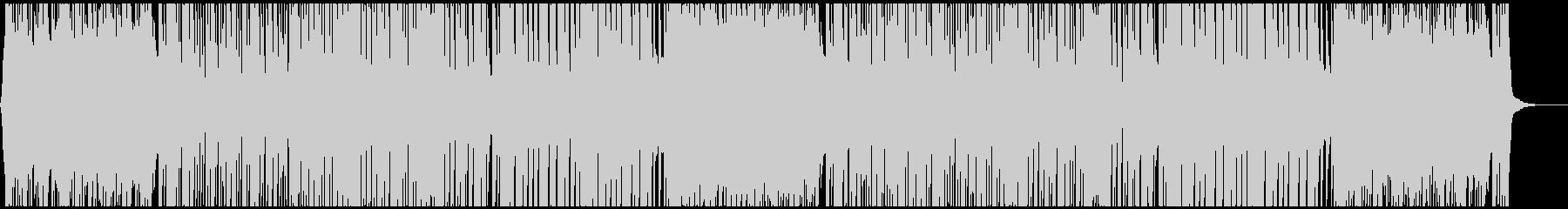 キャッチーなテクノポップ CM・映像の未再生の波形