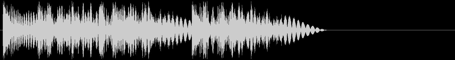 ドドッドン(攻撃・打撃・3連続パンチ)の未再生の波形