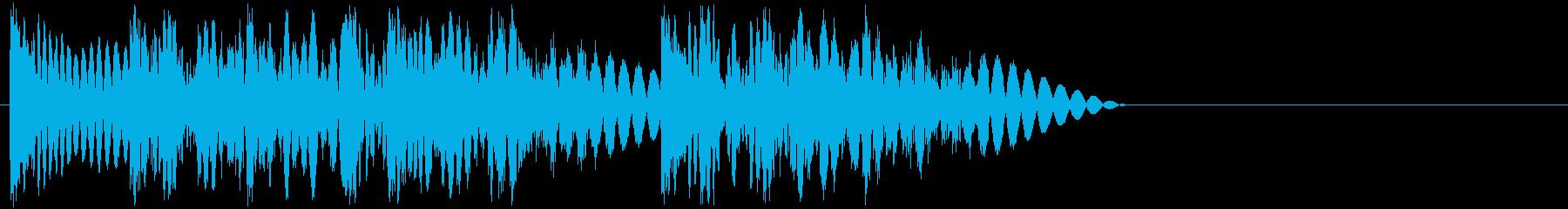 ドドッドン(攻撃・打撃・3連続パンチ)の再生済みの波形