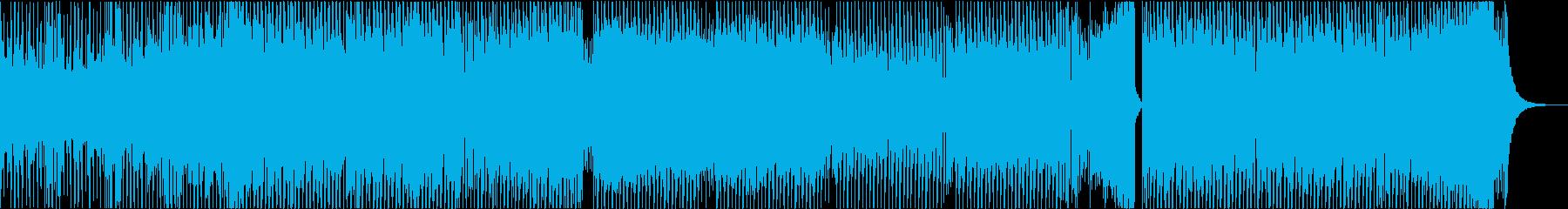 EDM 勇気 元気 凛々しい 爽快 激走の再生済みの波形