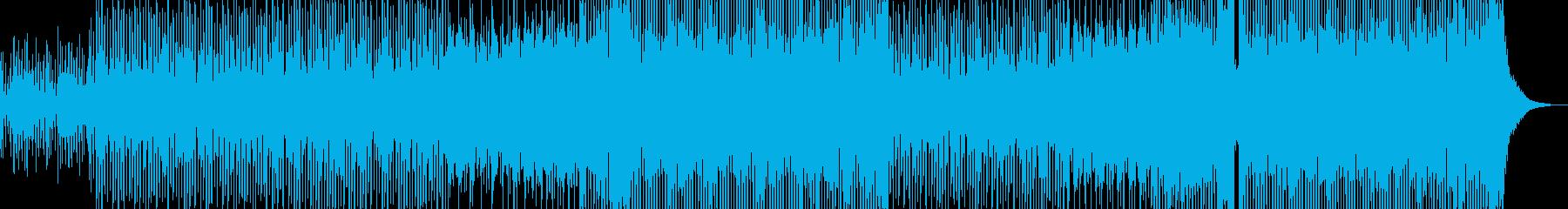 冬恋・2人を彩るテクノポップ ギター有の再生済みの波形