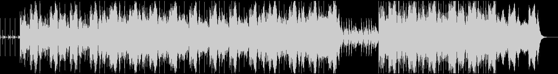 ループとコントラバスによるアンビエントの未再生の波形