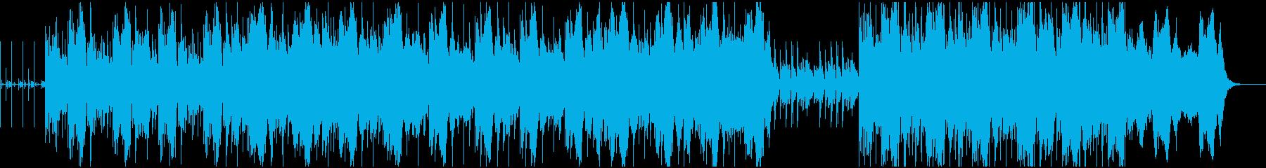 ループとコントラバスによるアンビエントの再生済みの波形