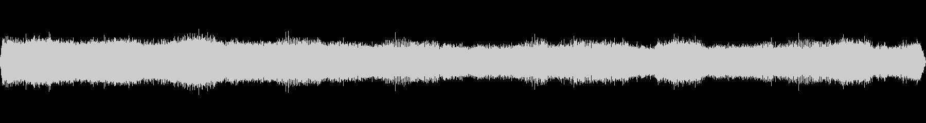 クマゼミの鳴き声-1の未再生の波形