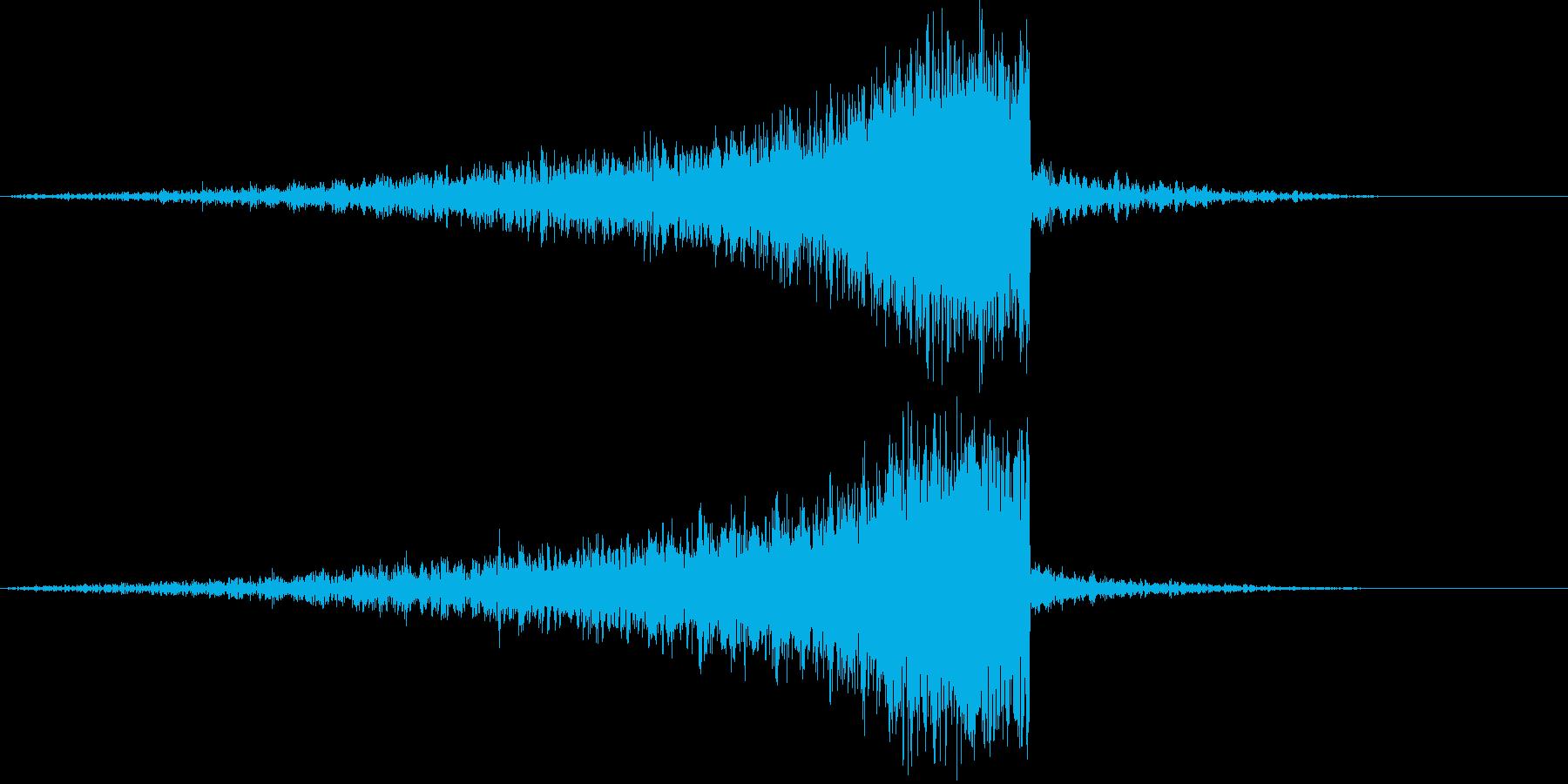 【映画演出】 ライザー_37の再生済みの波形