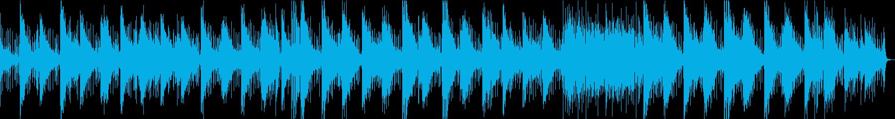AIによるリマスターバージョンの再生済みの波形