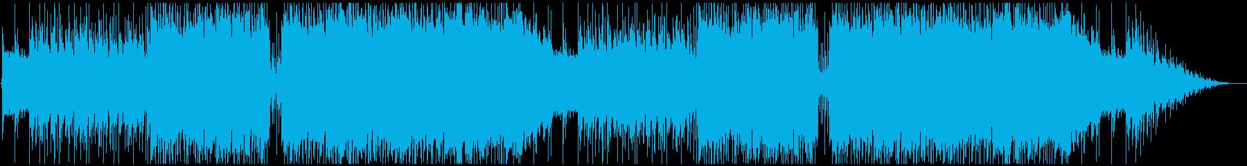 浮遊感と木琴が可愛いアイリッシュ風の曲の再生済みの波形