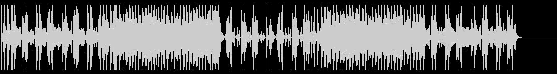 明るい印象のポップスBGMの未再生の波形