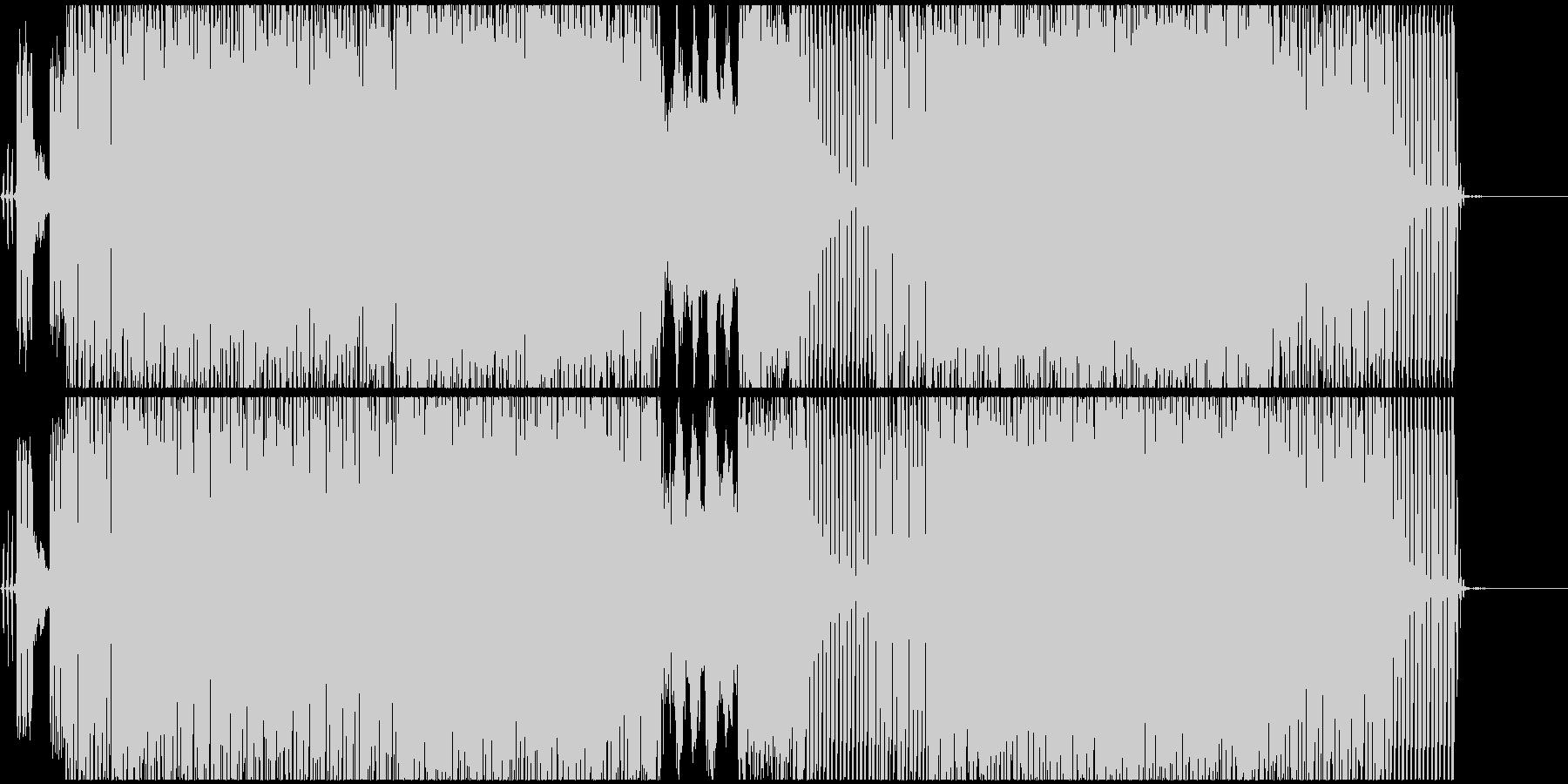 イントロ用テクノEDMの未再生の波形