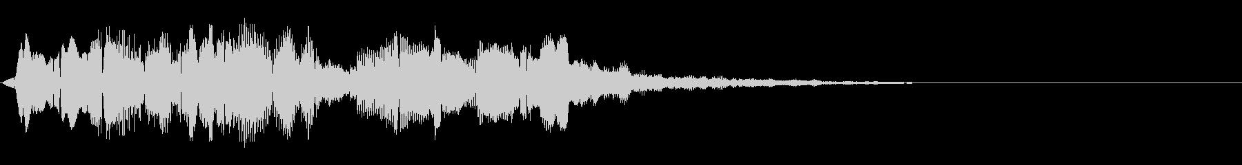 高音質シンセアクセント2の未再生の波形
