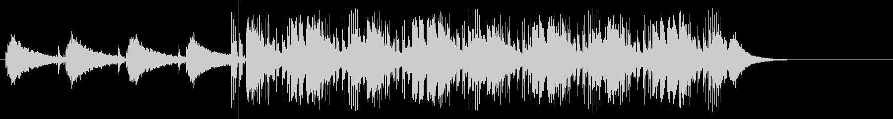 追跡感のあるマイナー・テーマ・ポップスの未再生の波形